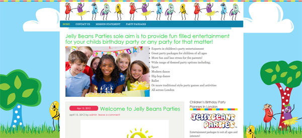 Jelly Beans Parties