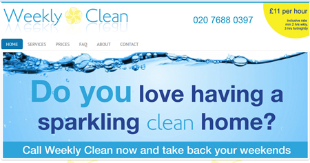 Cleaning Services north London